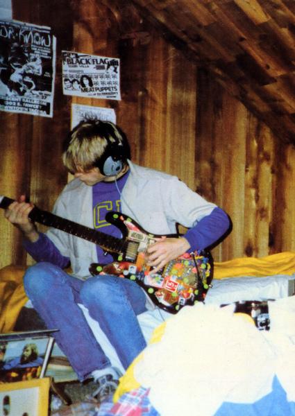Kurt Cobain's Univox Hi-flier Custom