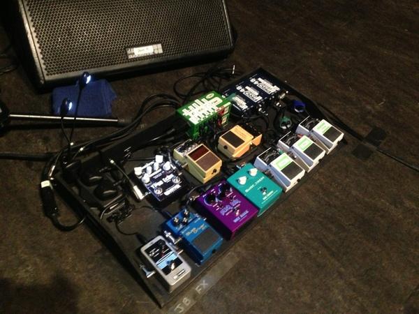 Jake Bugg's Boss AC-3 Acoustic Simulator Guitar Effects Pedal