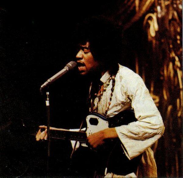 Jimi Hendrix's Fender Jaguar Electric Guitar