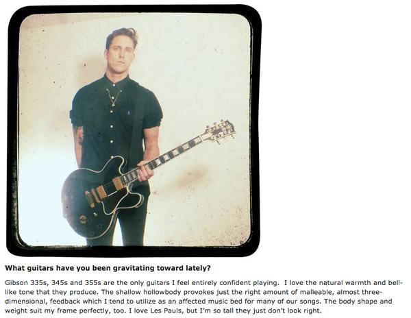 Robert Ackroyd's Gibson ES-345 Electric Guitar