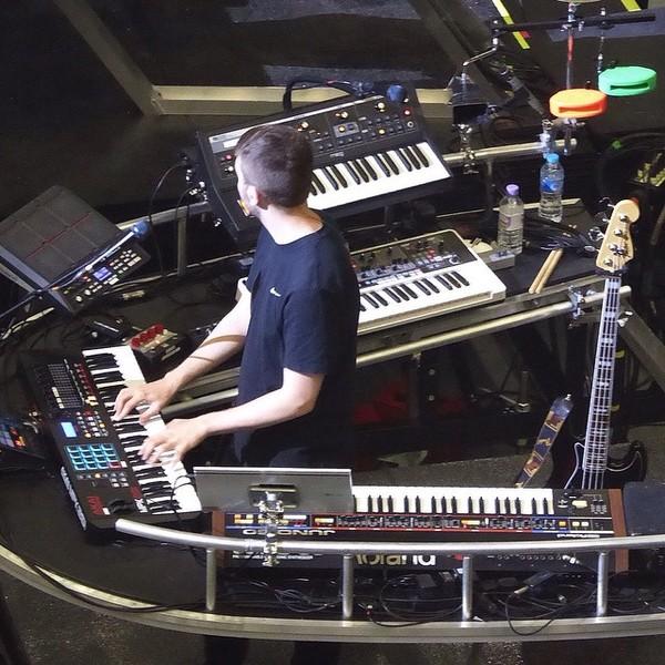 Disclosure's Akai MPK261 61-key MIDI Controller