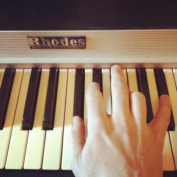 Gregor Salto's Fender Rhodes