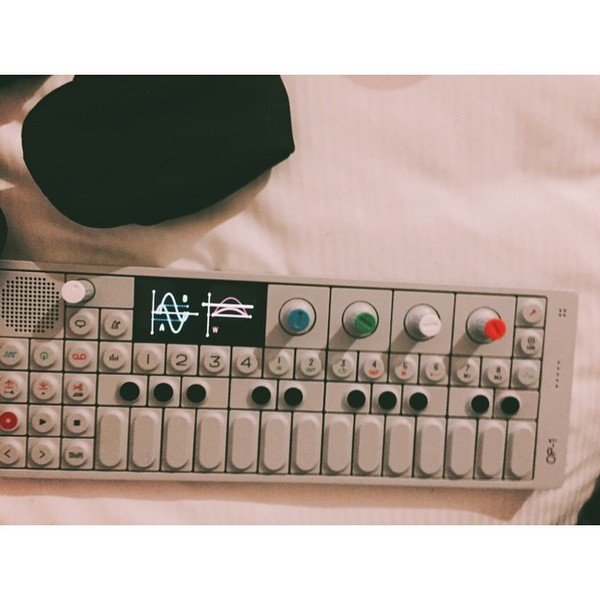 Avicii's Teenage Engineering OP-1 Portable Synthesizer