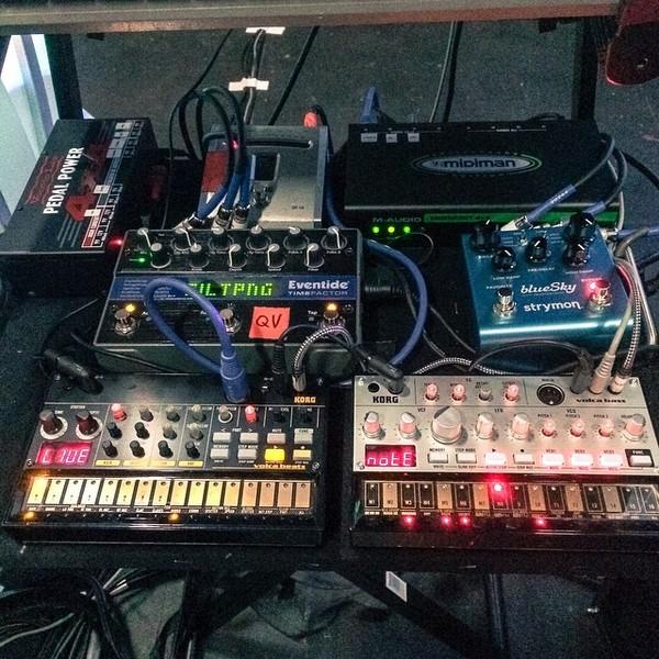 Shpongle(Simon Posford)'s Korg Volca Beats Analogue Rhythm Machine