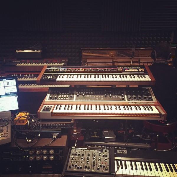 Breakbot's Roland Juno-60