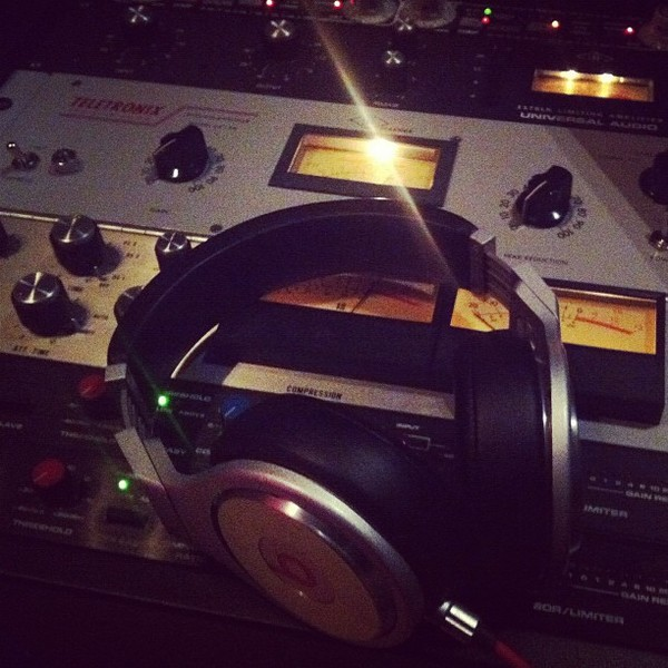 Ian Carey's Teletronix LA-2A Leveling Amplifier