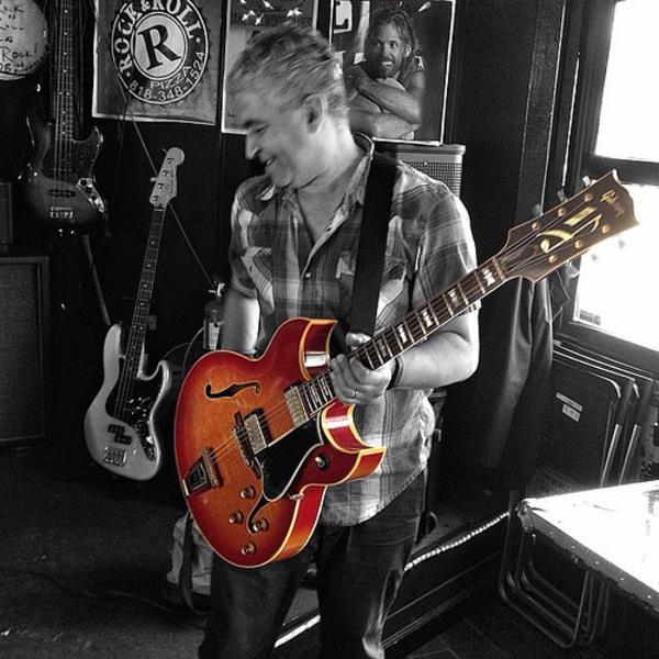 Pat Smear's Gibson Barney Kessel Custom