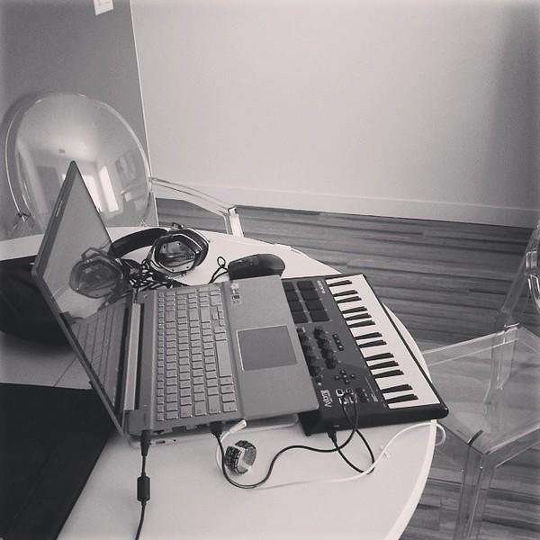 GTA's M-Audio Axiom 49 MKII Ignite Keyboard Control