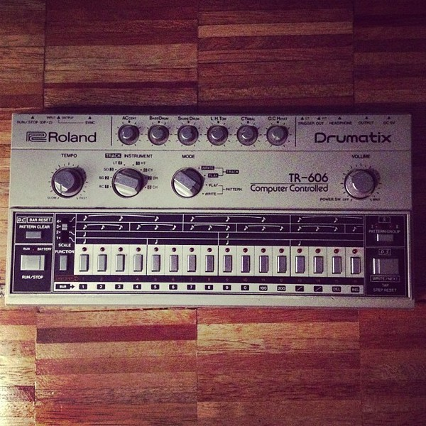 Boys Noize's Roland TR-606 Drumatix