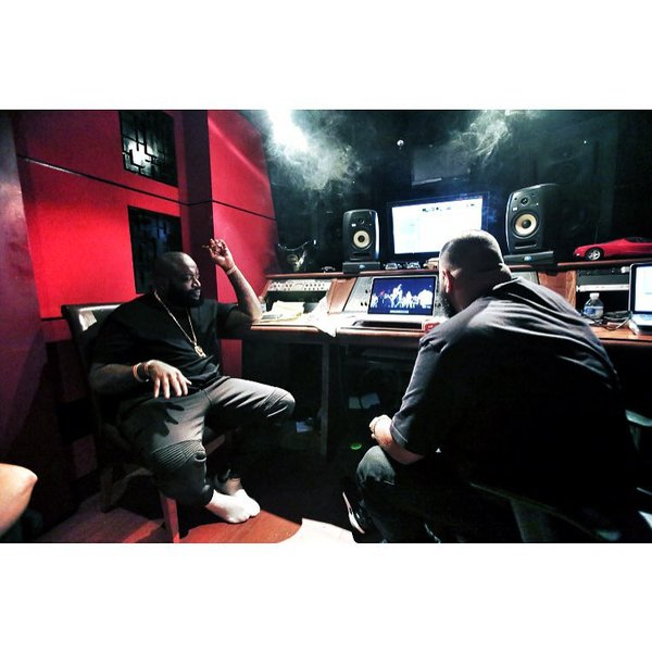 DJ Khaled's KRK VXT8 Active Studio Monitor