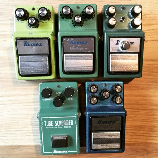 Paul Wilson's Ibanez TS9 Tube Screamer