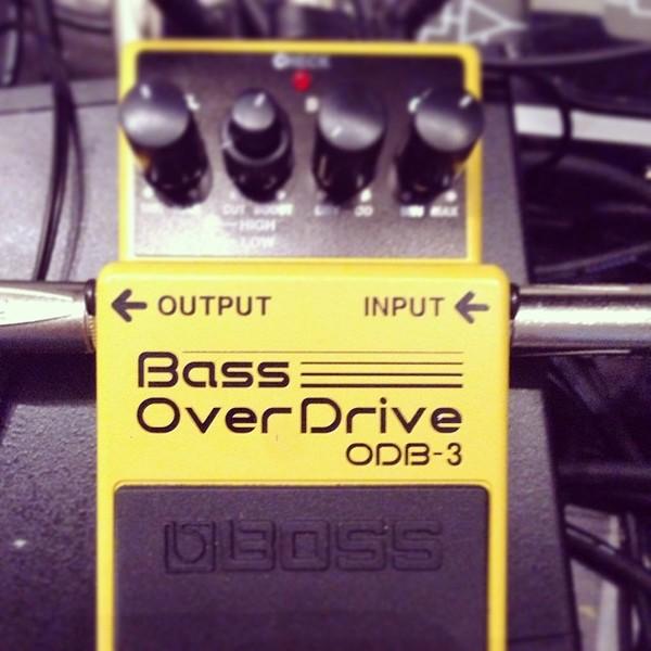 Detroit Swindle's Boss ODB-3 Bass OverDrive Effects Pedal