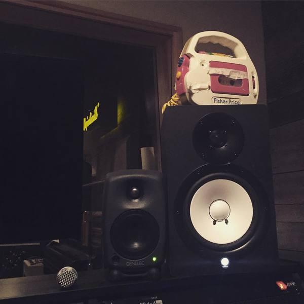 Alison Wonderland's Genelec 8020A Two-Way Active Speaker