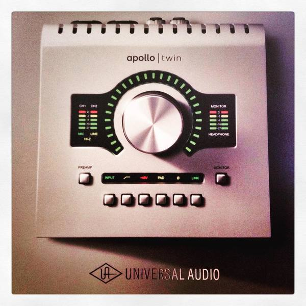 Pole Folder's Universal Audio Apollo Twin High-Resolution Interface with Realtime UAD Processing
