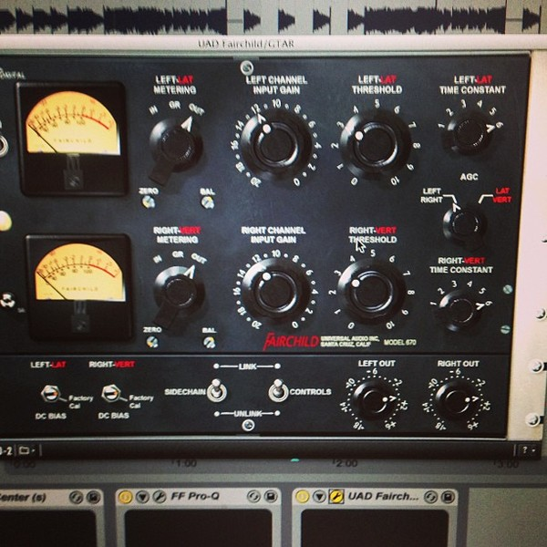 Claude VonStroke's Universal Audio UAD Fairchild 670 Tube Limiter Plug-In Collection