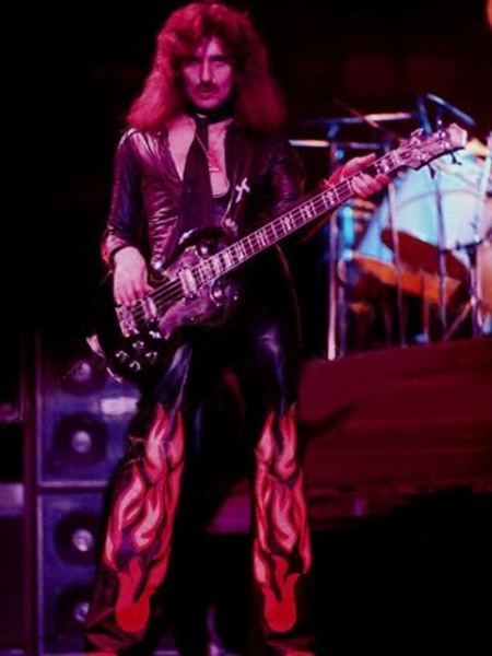 Geezer Butler's Gibson SG Standard Bass