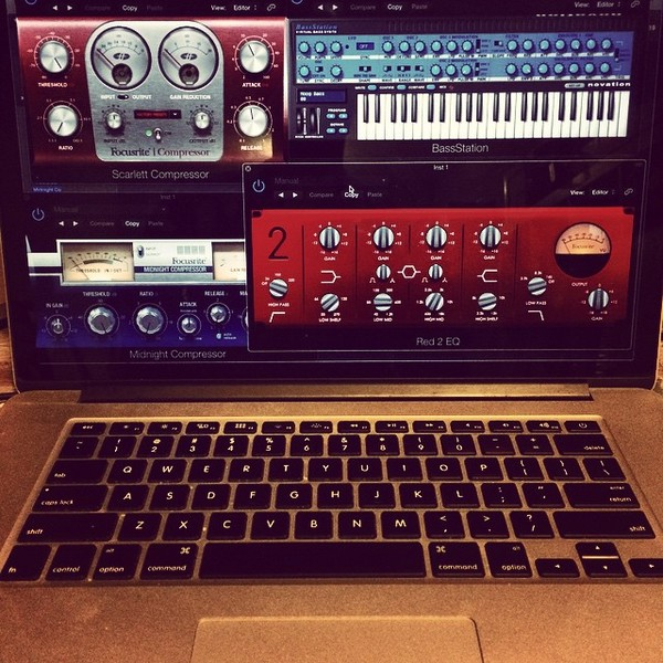 Mark De Clive-Lowe's Novation Bass Station VST