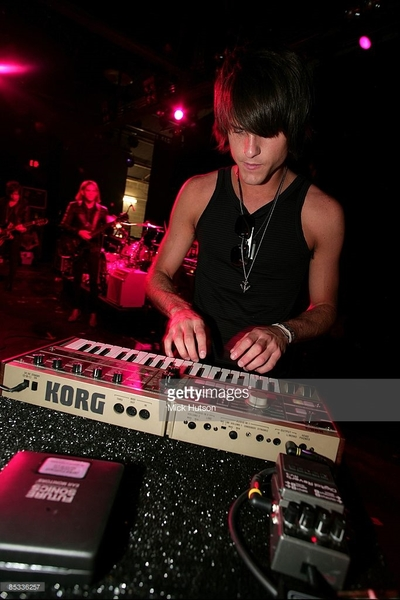 Jared Followill's Korg MicroKORG Synthesizer/Vocoder