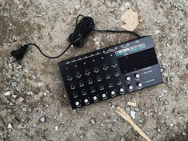 Skudge's Boss BX-60 6 Channel Stereo Mixer