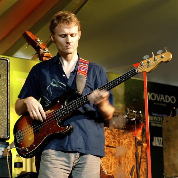Chris B. Wood's Fender Precision Bass