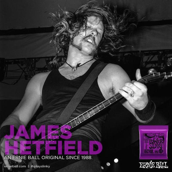 James Hetfield's Ernie Ball Power Slinky Strings