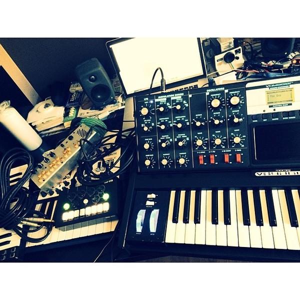 Urban Cone's Critter & Guitari Pocket Piano