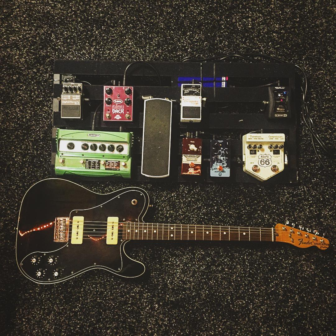 brian groot some day 39 s walrus audio mayflower overdrive pedal equipboard. Black Bedroom Furniture Sets. Home Design Ideas