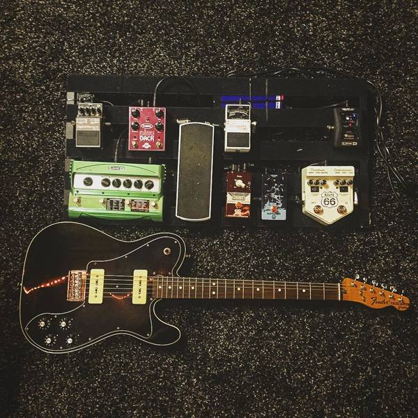 Brian Groot (Some Day)'s Visual Sound V2 Series V2RT66 Route 66 Overdrive and Compression Guitar Pedal