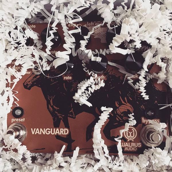 James Duke's Walrus Audio Vanguard - Dual Phase