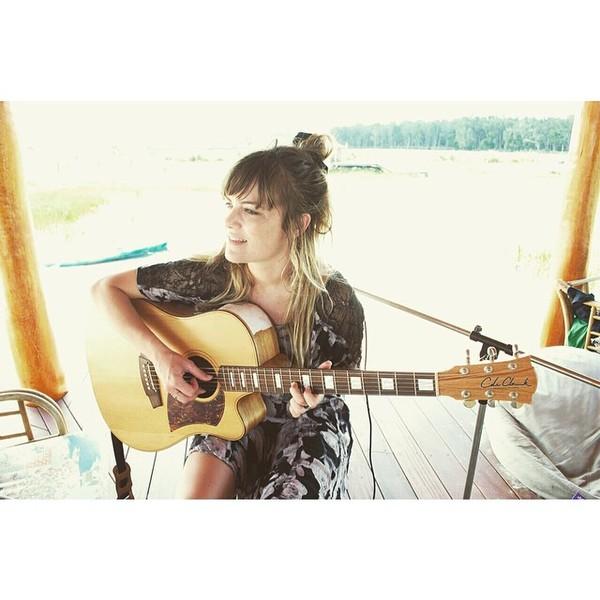 Julia Stone's Cole Clark FL2 Acoustic Guitar