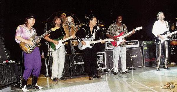 Stevie Ray Vaughan's Fender Custom Shop Stevie Ray Vaughan Tribute Stratocaster