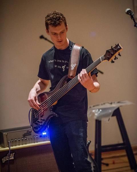 Matt McCormack's Aguilar Tone Hammer 500 Head