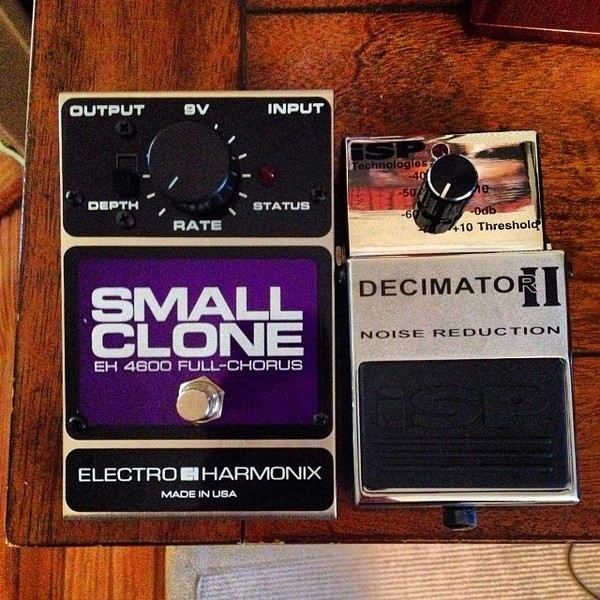 Dan Gargiulo's Electro-Harmonix Small Clone Analog Chorus