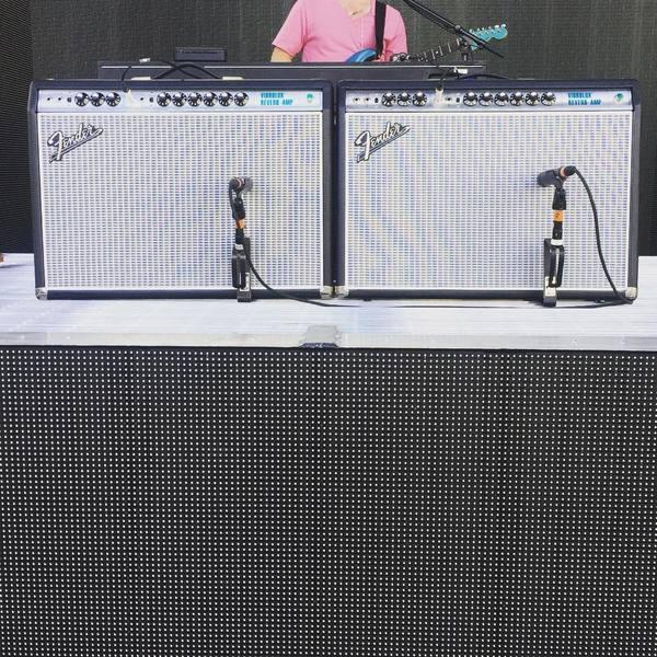 Adam Hann's Fender '68 Custom Vibrolux Reverb
