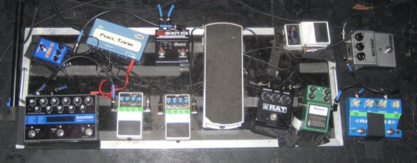 Brian Aubert's Eventide TimeFactor Twin Delay Guitar Effects Pedal