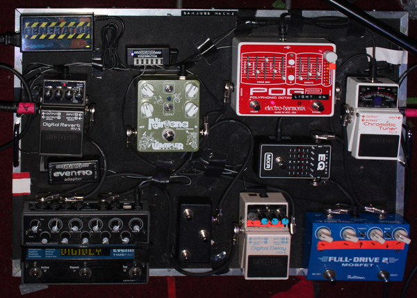 Samuel Lockwood's Eventide TimeFactor Twin Delay Guitar Effects Pedal