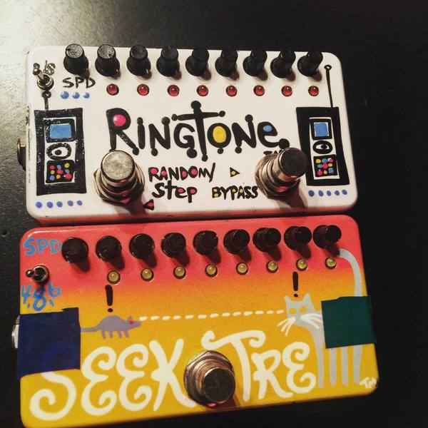 Nikki Sixx's ZVex Ringtone TT(Tap Tempo)