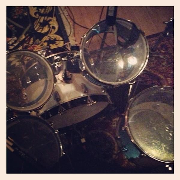 Questlove's 1976 Ludwig Cream Vistalite Drum Kit