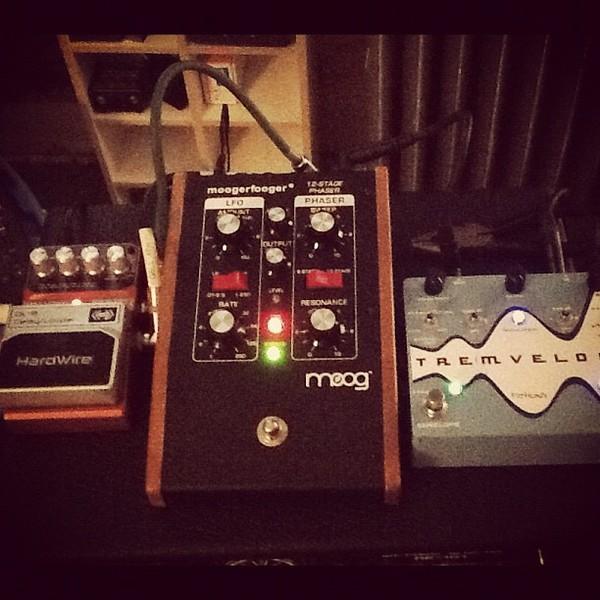 Adam Granduciel's Moog Moogerfooger MF-103 12-Stage Phaser
