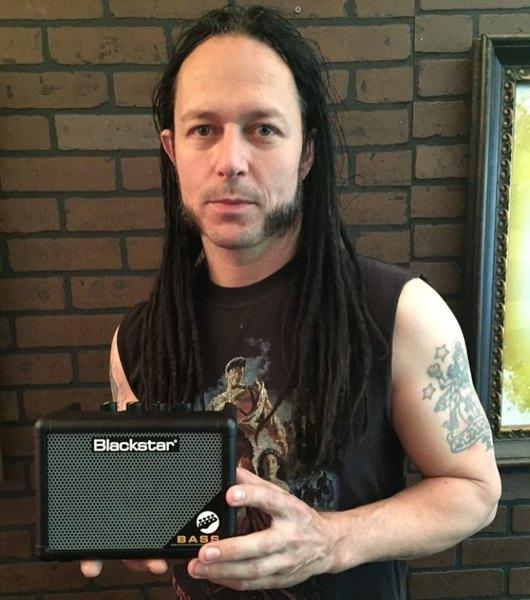 John Moyer's Blackstar Fly 3 3W 1X3 Bass Mini Guitar Amp