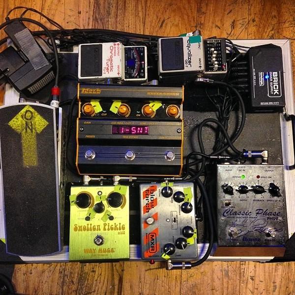 Ashley Dzerigian's Markbass Super Synth Bass Pedal | Equipboard®