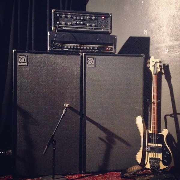 Ian Peres's Peavey Mark IV Series 400 Bass Amp