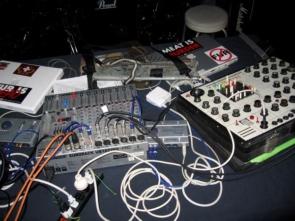 Merzbow's EMS - Synthi A
