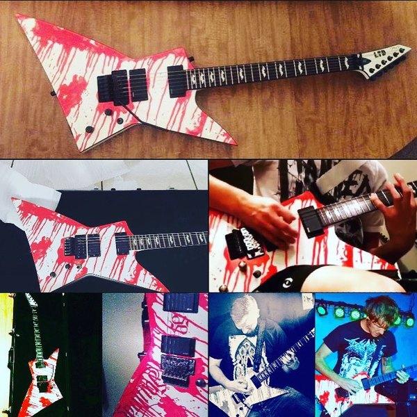 Dan Jacobs's ESP LTD DJ600 Dan Jacobs Signature Electric Guitar