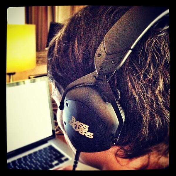 Bassjackers's V-Moda Crossfade LP2 Over-Ear Headphones