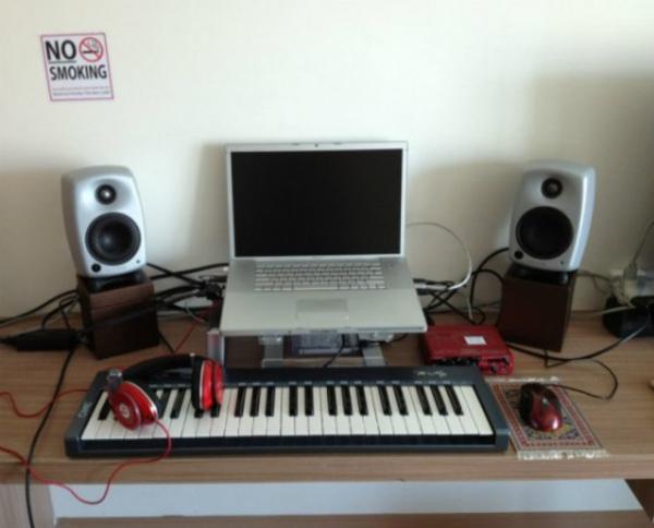 Cliff Martinez's Genelec 8020B White Studio Monitor