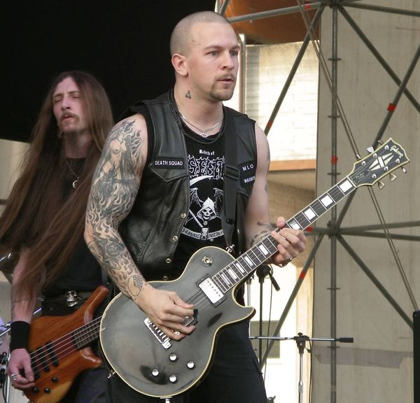 Jon Nödtveidt's Gibson Les Paul Custom Electric Guitar