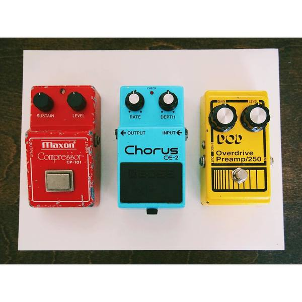 Matt Hoopes's Boss CE-2 Chorus Guitar Effect Pedal