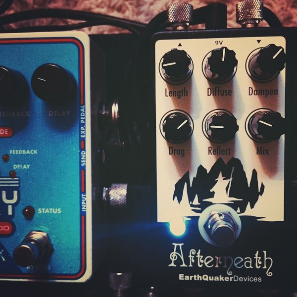 James Duke's EarthQuaker Devices Afterneath