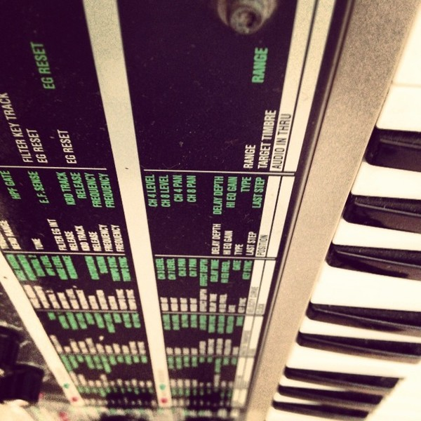 Duncan Lloyd's Korg MicroKORG Synthesizer/Vocoder